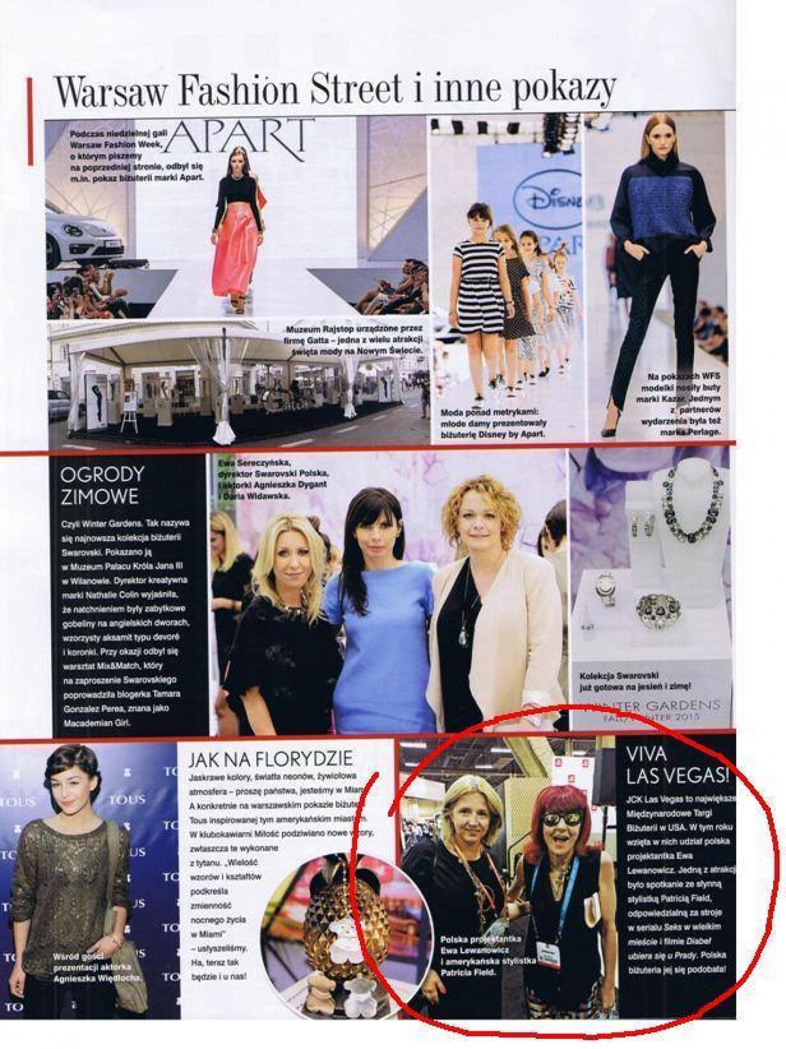 b5495896c Podbijamy AMERYKĘ reprezentując Polskę na targach JCK Jewelry Show. Nasza  biżuteria zachwyciła klientów a w szczególności słynną stylistkę Patricia  Field ...
