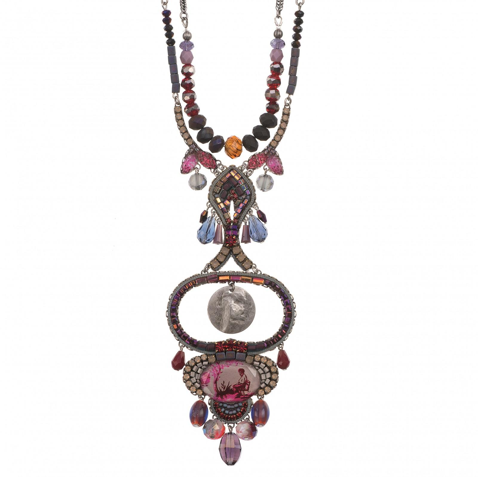 a412ff88d702 NASZYJNIK NEW z kryształów Swarovskiego